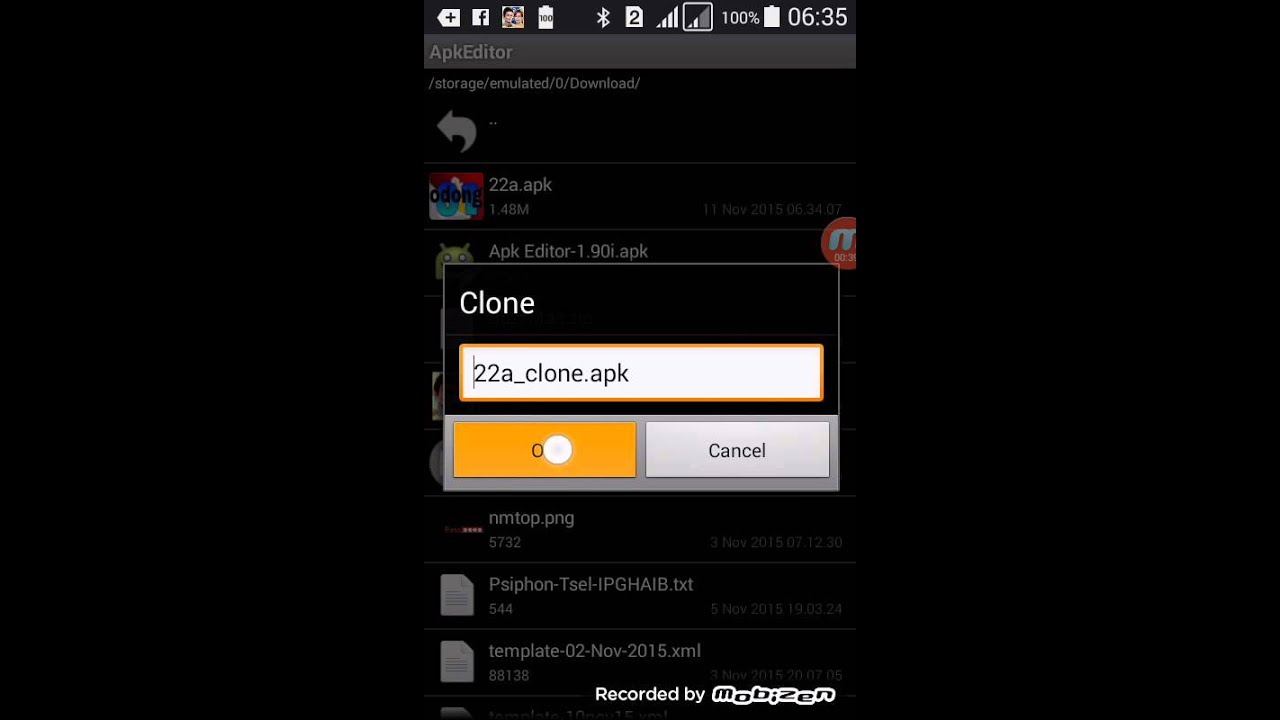 Cara edit zello apk