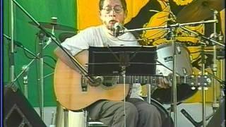 夕暮れ/ 自転車に乗って/ 生活の柄 ♪ 1998/09/09(日)北海道芦別市上芦...