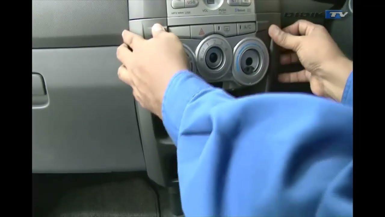 toyota camry radio wiring diagram cara cara membuka cover    radio    dashboard kereta myvi  cara cara membuka cover    radio    dashboard kereta myvi