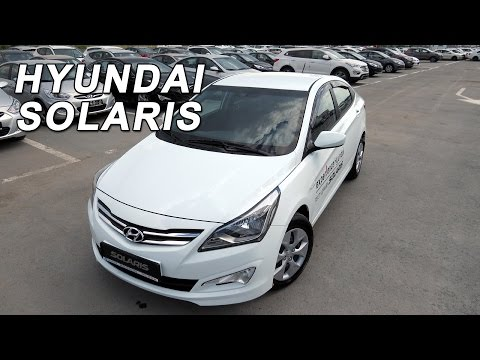 Hyundai Solaris 2015 Hyundai Accent 2015