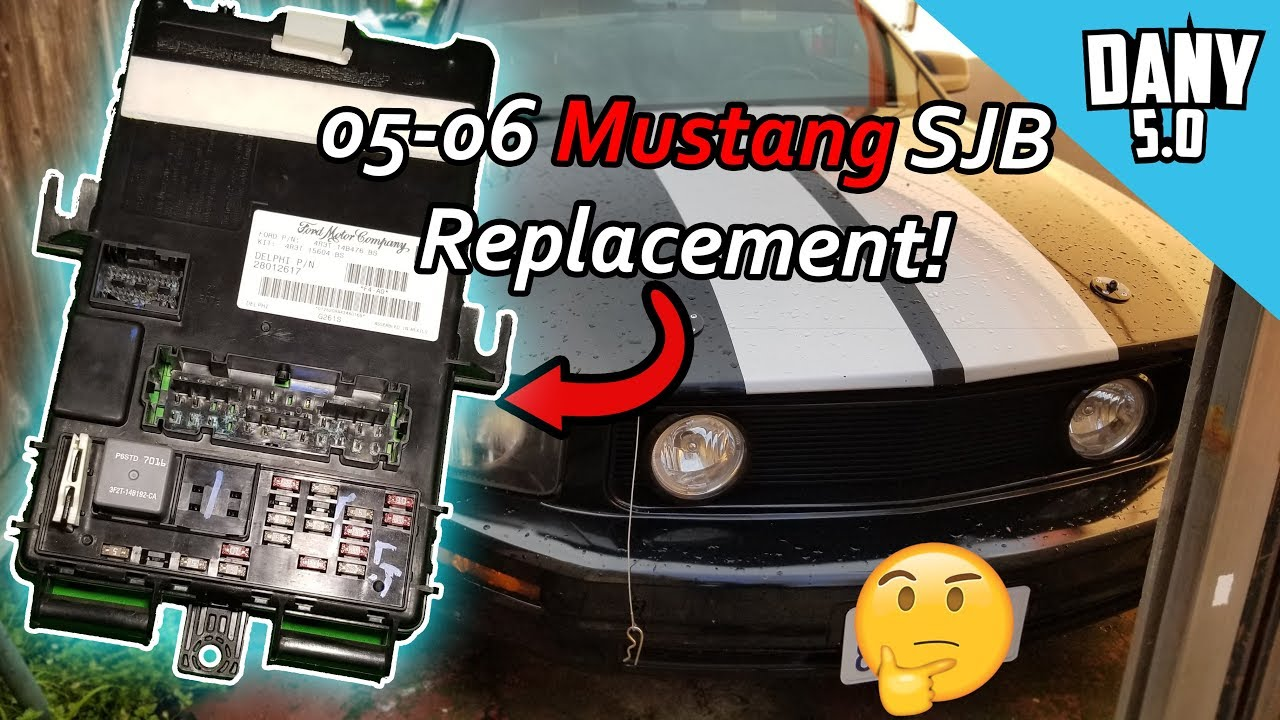 medium resolution of does your 05 06 mustang needs a new interior fuse box smart junction box anti theft fuse box