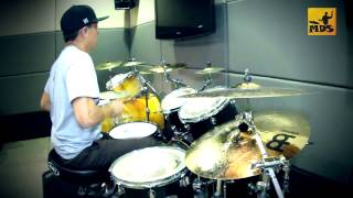 Yellow Angels - Senses Fail (Drums by Victor Chong - My Drum School)