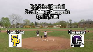 High School Baseball - South Point at Chesapeake
