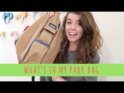 My PARK BAG and what's inside it!!! || Vlogmas Day 5