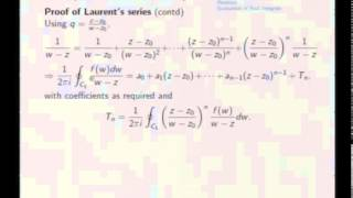 Mod-08 Lec-39 Singularities and Residues