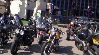 00441 REBEL RALLY AT WHITE HART LENTON   NOTTINGHAM  VID 2