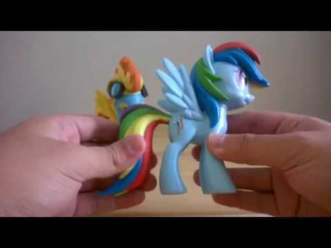 Funko MLP Vinyl Collectibles Spitfire And Rainbow Dash (Unboxing)