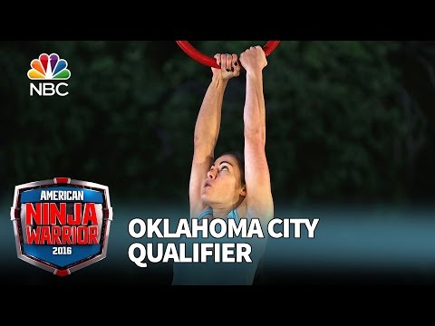 Kacy Catanzaro at the Oklahoma City Qualifier - American Ninja Warrior 2016