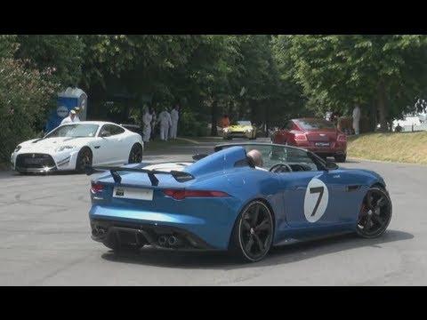 Drift Burnouts Goodwood Part 2 Porsche Rsr Jaguar Xkrs Gt