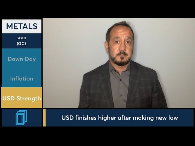 July 30 Metals Commentary: Bob Iaccino