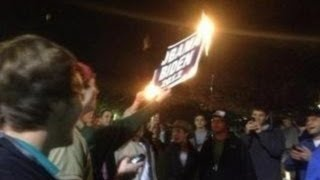 Ole Miss Racist Riots After Obama Re-Elected