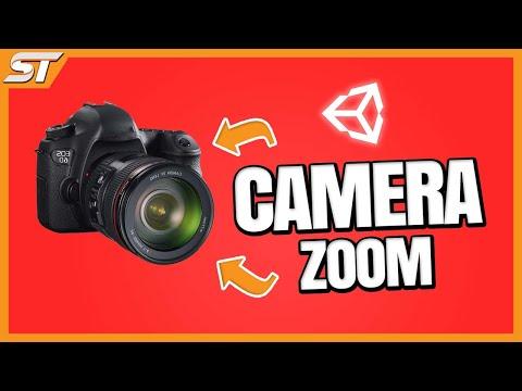 Camera Zoom in Unity 5 - C#