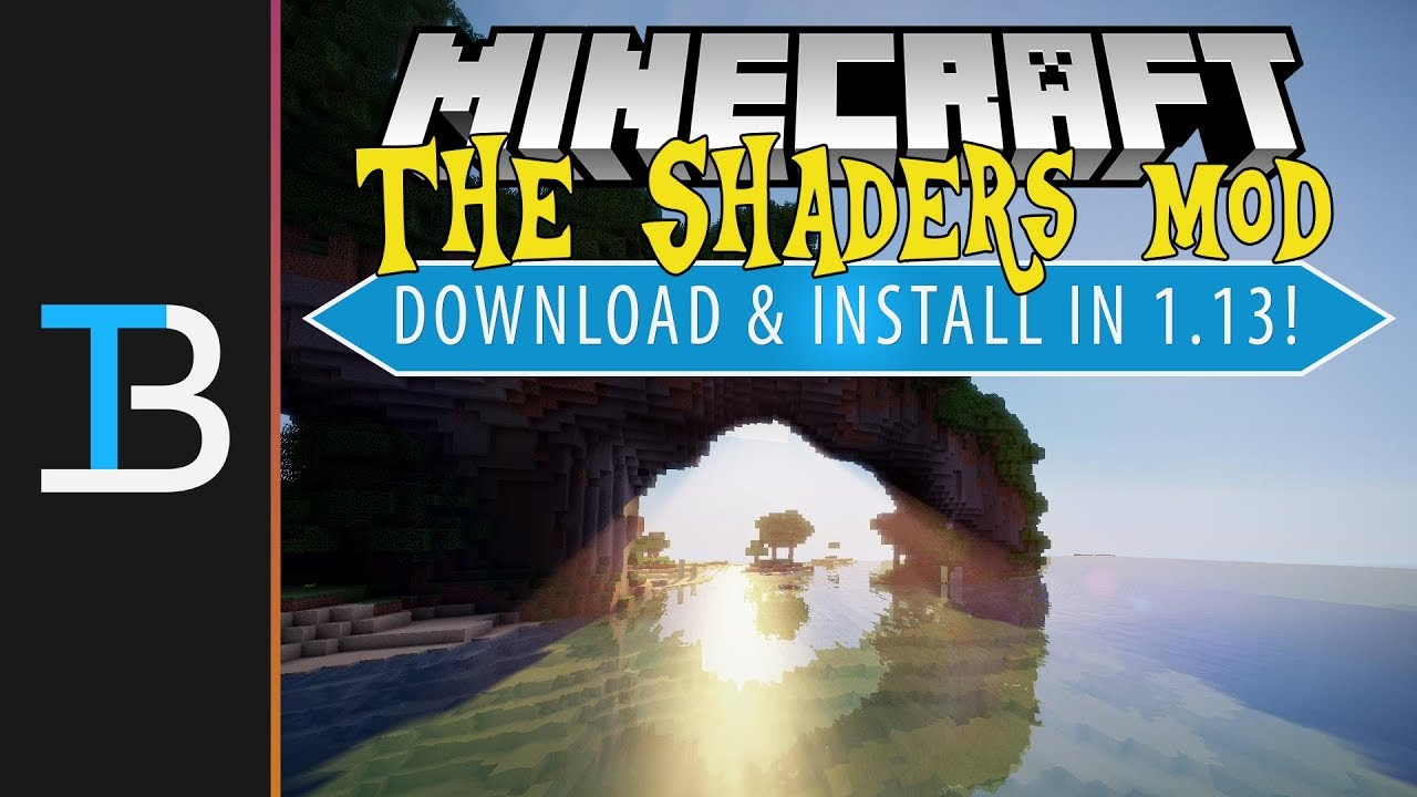 How To Download & Install Shaders in Minecraft 1.13 (Get Shaders in Minecraft 1.13!)