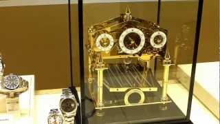 Comitti Congreve - Gold Plated Clock For 11450 Euros