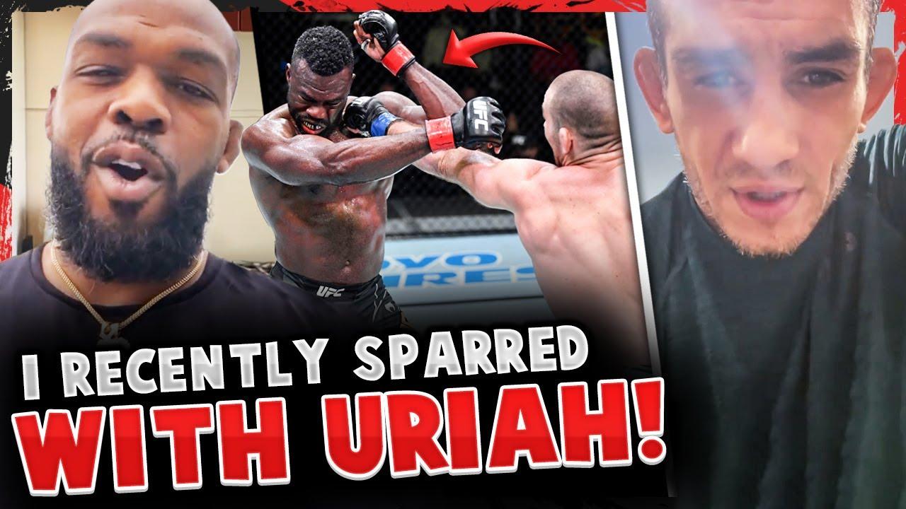 Reactions to Uriah Hall vs Sean Strickland! Tony Ferguson sends MESSAGE to Sean! Jon Jones REACTS!