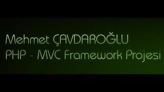 PHP MVC Framework Projesi 7 Bölüm