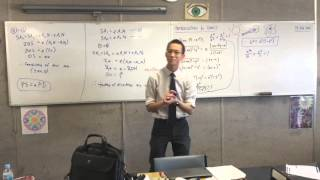 Introduction to Conics (7 of 8: Finding the critical relationship between a and b on an Ellipse)