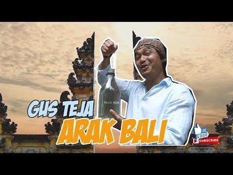 TRYING BALINESE ALCOHOL , ARAK BALI TRADISIONAL BY GUS TEJA