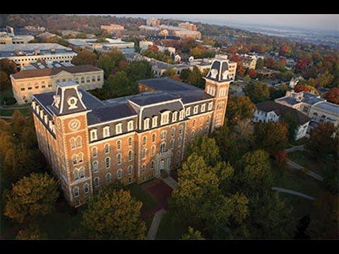 University of Arkansas: Campus Tour & Razorback Stadium & Bud Walton Arena