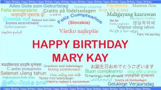 MaryKay   Languages Idiomas - Happy Birthday