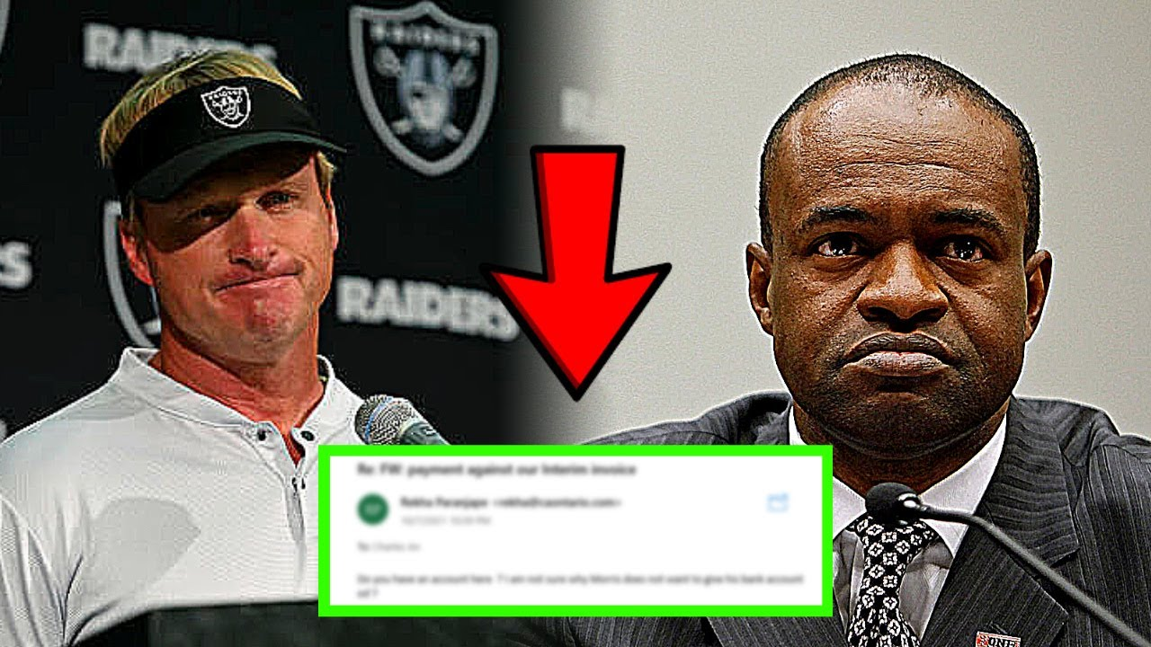 Raiders head coach Jon Gruden apologizes for 2011 email: 'I don't ...