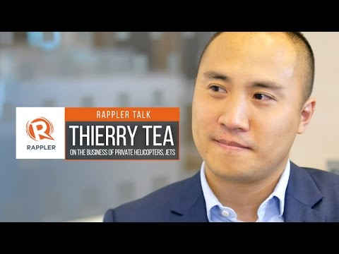 Rappler Talk: Thierry Tea on the business of private helicopters, jets