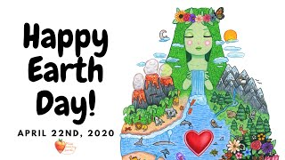 """""""happy earth day!🌎🌱♻️❤️april 22nd, 2020"""""""