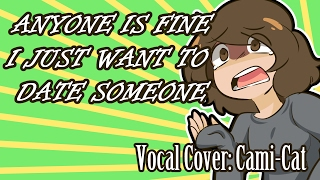 anyone is fine i just want to date someone valentines day cover