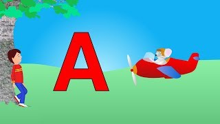 Best ABC Alphabet Song A is for Airplane (Zed version)
