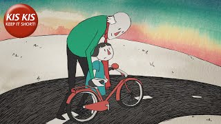 "Grandfather teaching how to ride a bike | ""Cycle"" - Short film by Sophie Olga de Jong & Sytske Kok"