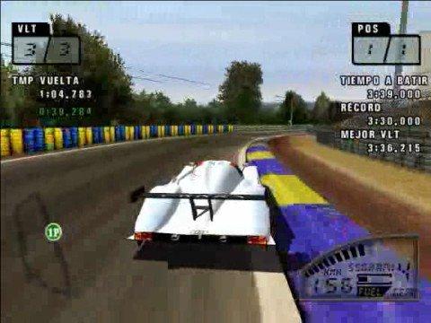 Una vuelta en la pista de Le Mans
