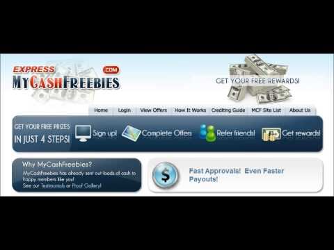 My Cash Freebies (Express Proof) Legitimate work from home