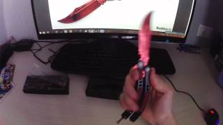 Огляд і Розпакування ножа метелики з CS:GO! Плюс новини про колекційному виданні!!!