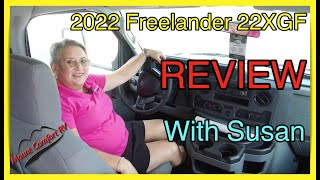 2022 Freelander 22XGF Review with Susan | Mount Comfort RV
