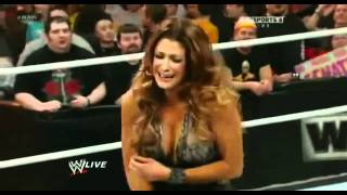 John Cena Owns Eve Torres  Makes Her Cry   WWE Raw 22012 Hoeski.wmv