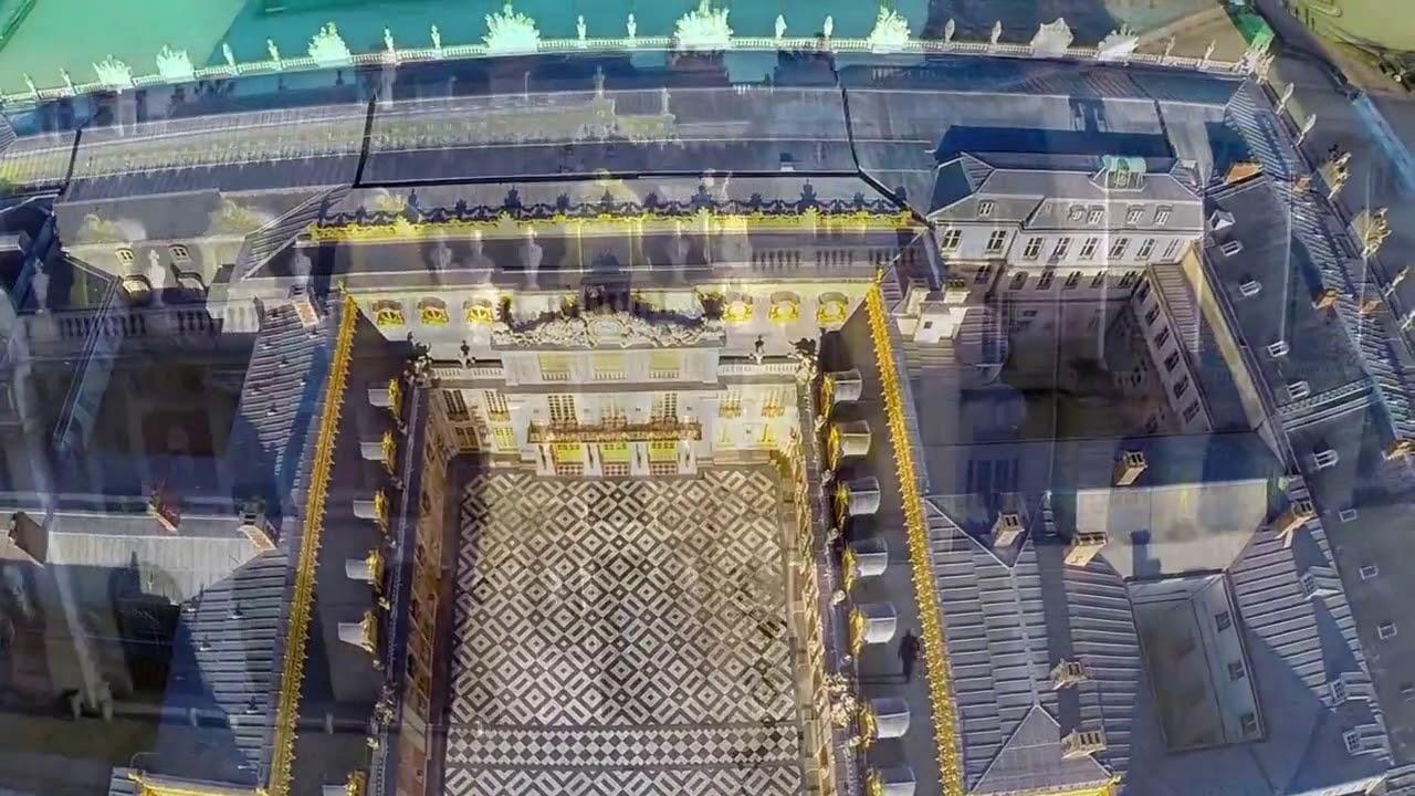 Visite Du Chateau De Versailles En Vue Aerienne Par Drone Youtube