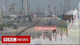 Why Texas is seeing a coronavirus surge - BBC News