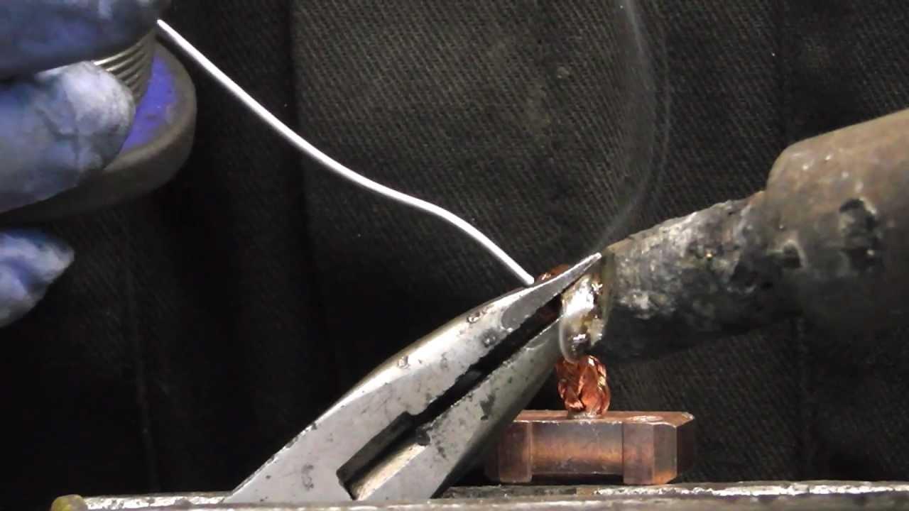 Starter motor brushes soldering guide (QUICK TIP)  YouTube