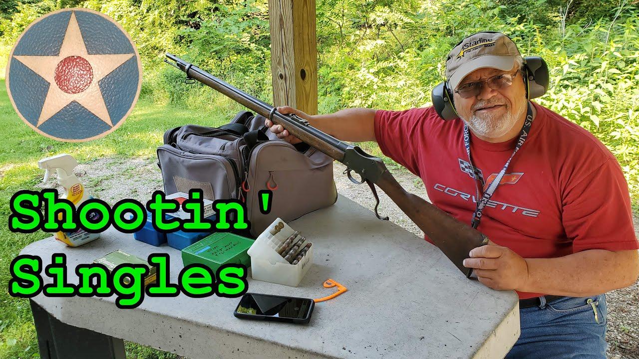 Shooting Some Historic Single Shot Cartridge Rifles & Some History!