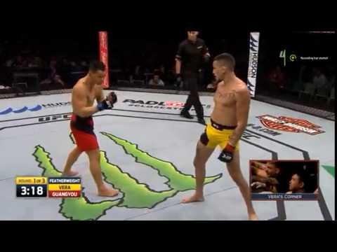 """Marlon """"CHITO"""" Vera dance - UFC FIGHT NIGHT 101"""