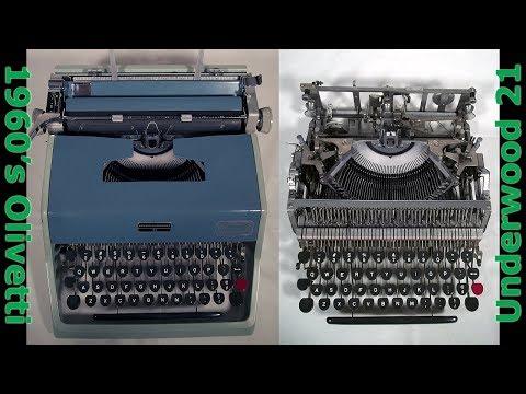 60's Olivetti Underwood 21 Typewriter Restoration
