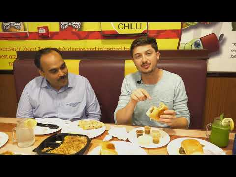 Eating PAKISTANI FOOD for the first time | Pakistani STREET FOOD, EMLY CHILLI, DUBAI