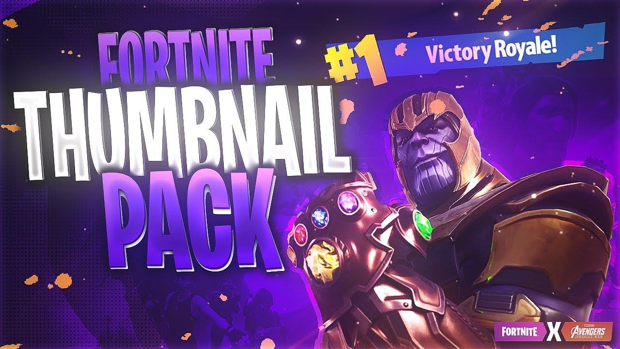 Free Fortnite Thumbnail Template Season 6 Youtube