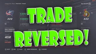What If EVERY Blue Jackets Trade Was REVERSED Over the Last 2 Years? NHL 19