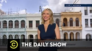 The Americanization of Cuba: The Daily Show