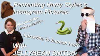 RECREATING HARRY STYLES INSTAGRAM
