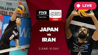 Japan v Iran - 2016 Men's World Olympic Qualification Tournament