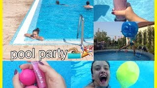 Have a pefect pool party! Food, ideas+more