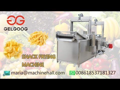 Introduce Of The Snack Food Frying Machine Line@Fruit-Process.Com