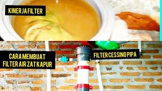 filter air,Filter air tengki,,filter tabung,penjernih air,filter air zat kapur.episode 7